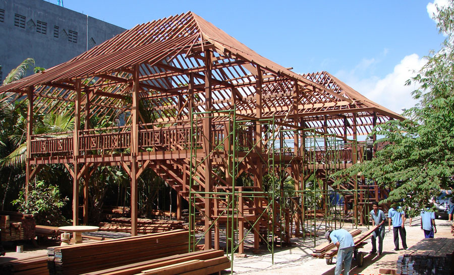 Why Build A Prefab Tropical Hardwood Timber Home Teak Bali
