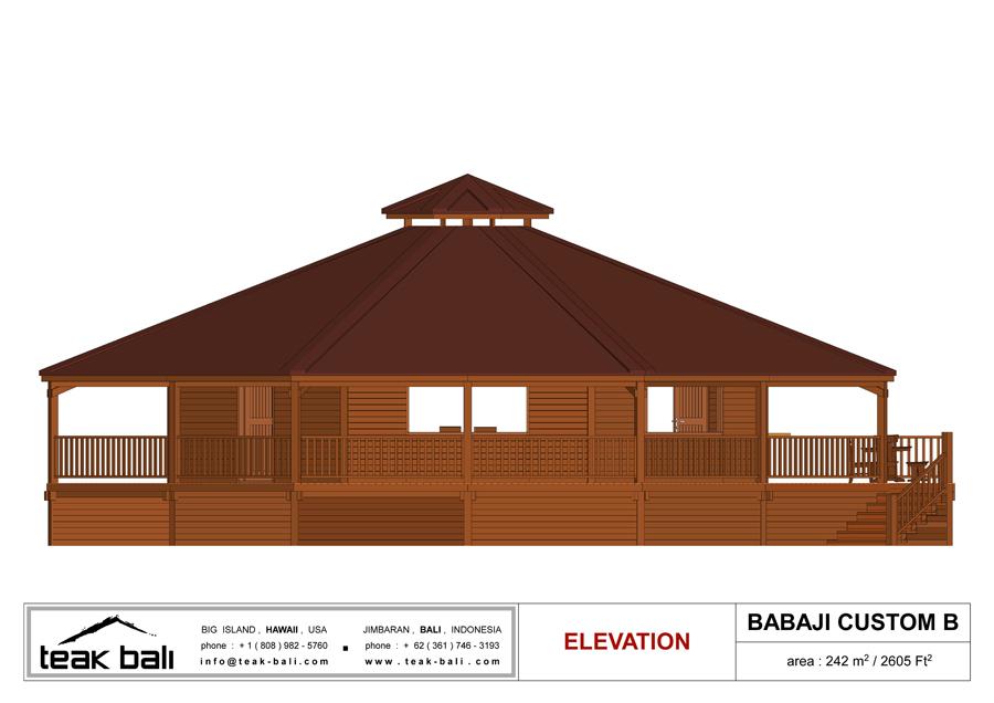 Caribbean Timber Home Design
