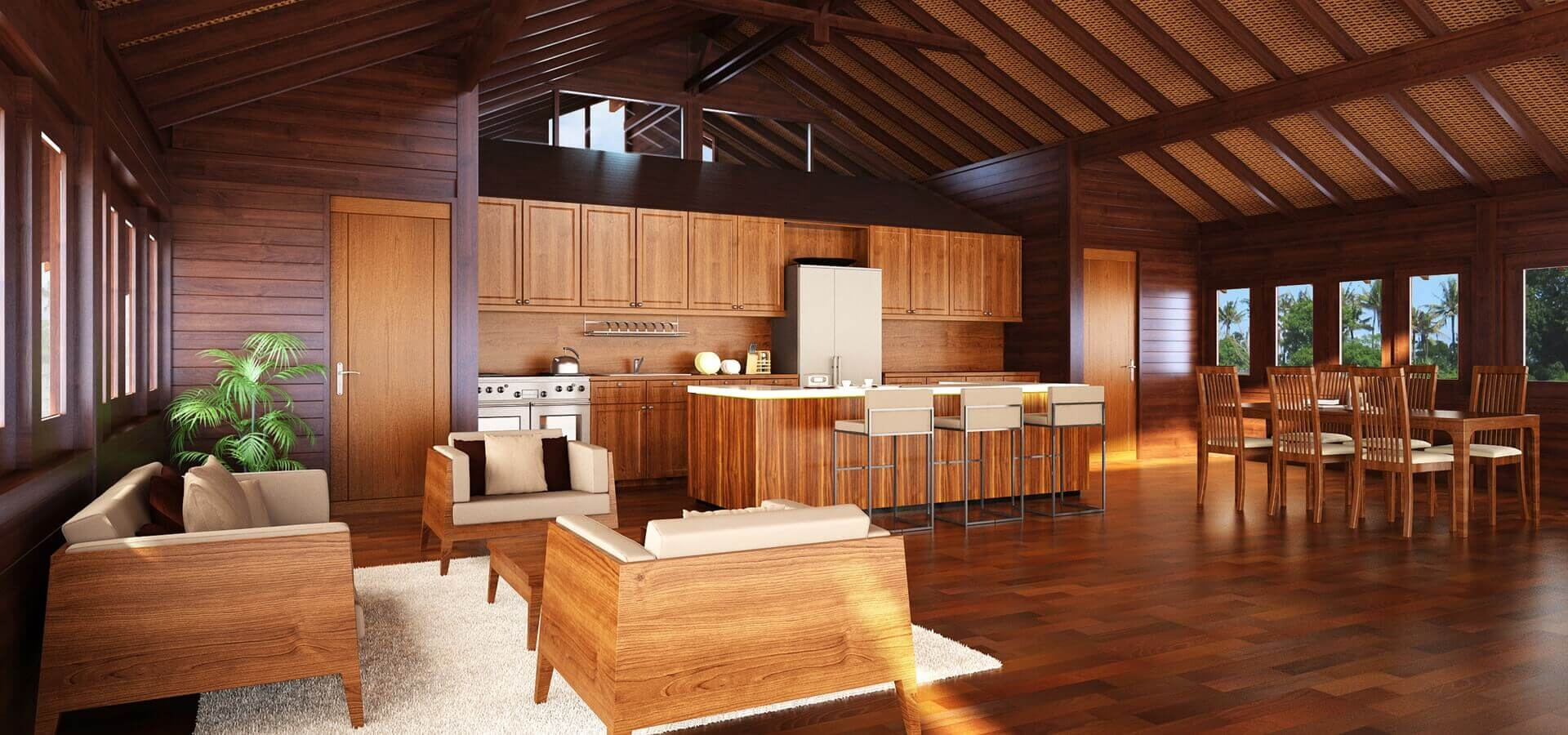 Luxury Prefab Hardwood Homes Amp Houses By Teak Bali