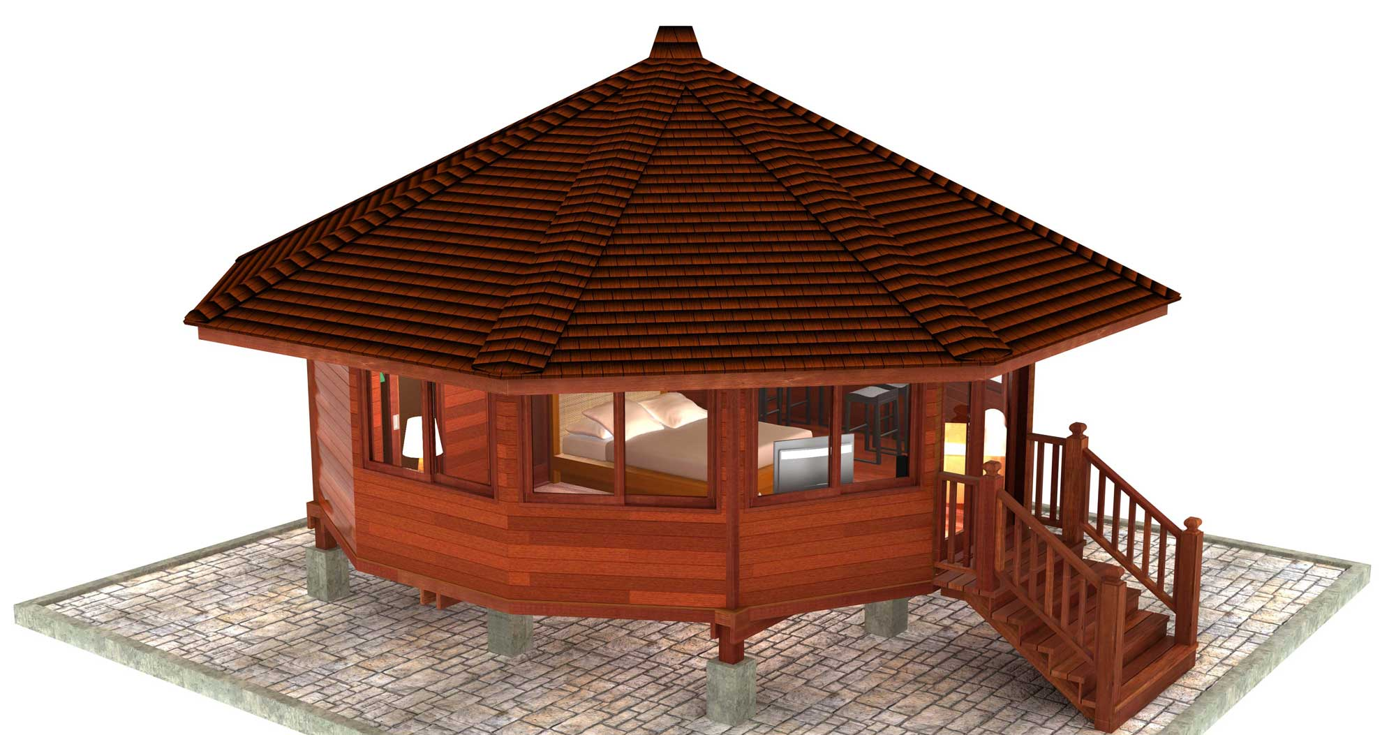 Babaji Design Hardwood Floor Plans Teak Bali