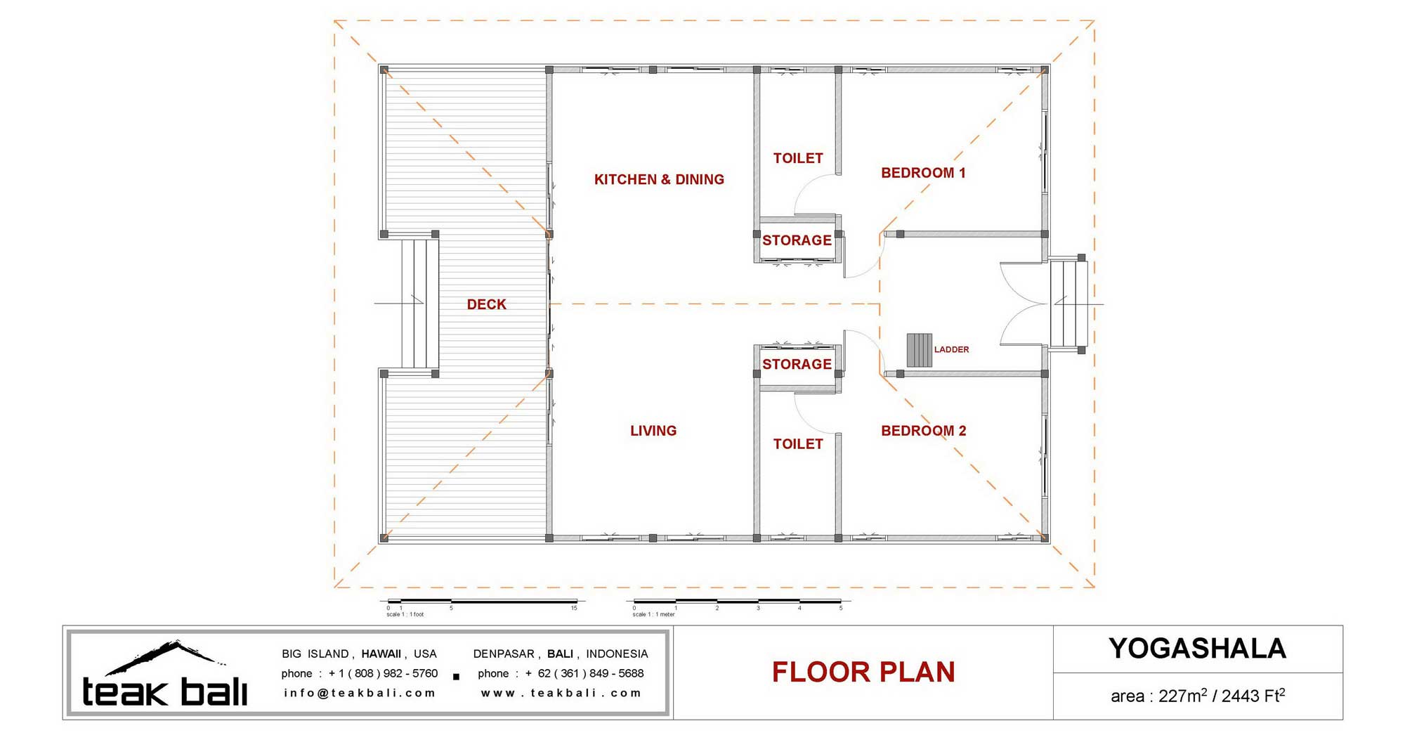 Yogashala Design Hawaii Floor Plans Teak Bali