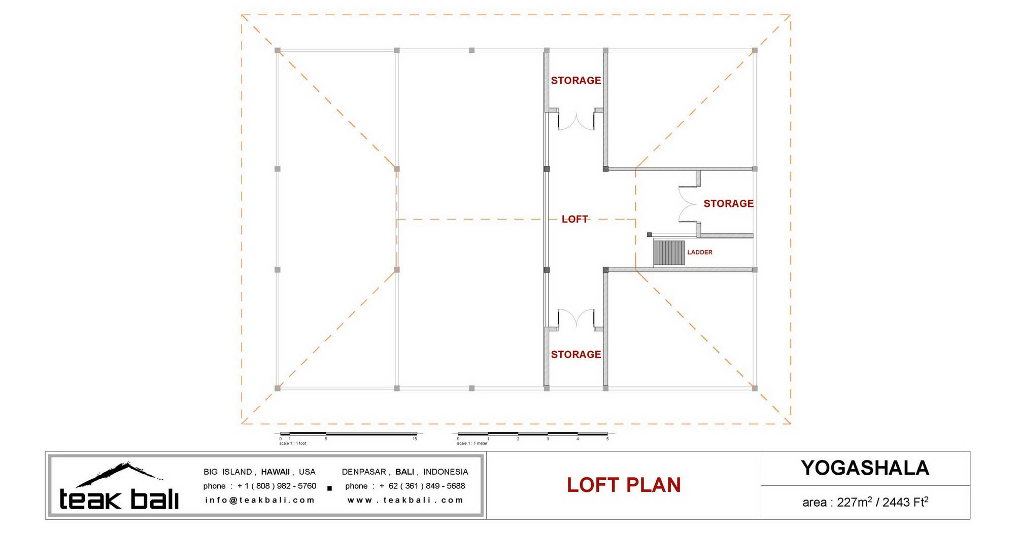 Yogashala Design Hawaii Floor Plans Teak Bali