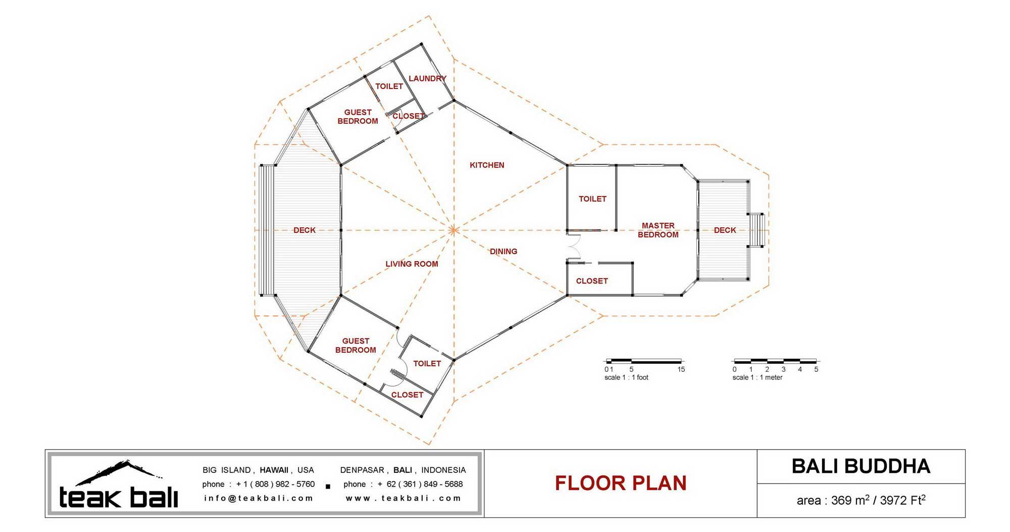Bali Buddha Design Luxury Floor Plans Teak Bali
