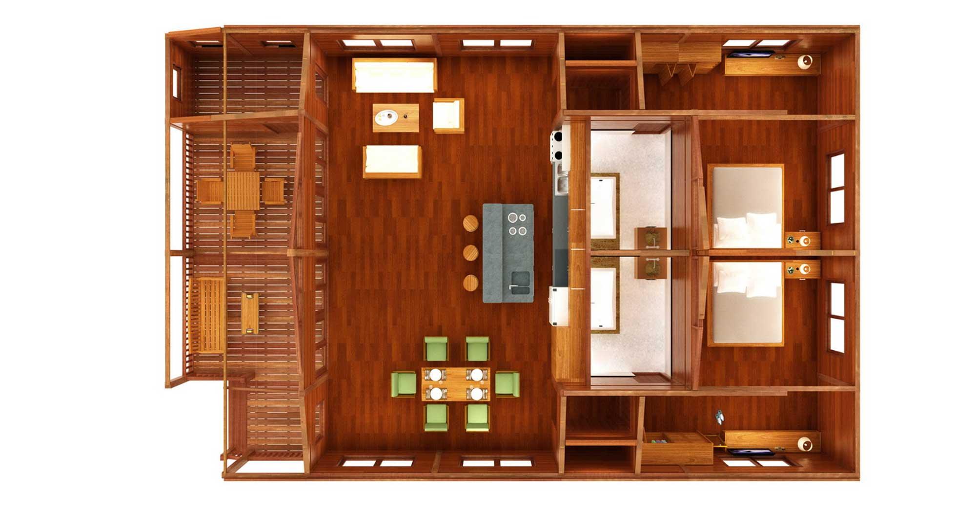 Tanglewood Design Oahu Floor Plans Teak Bali