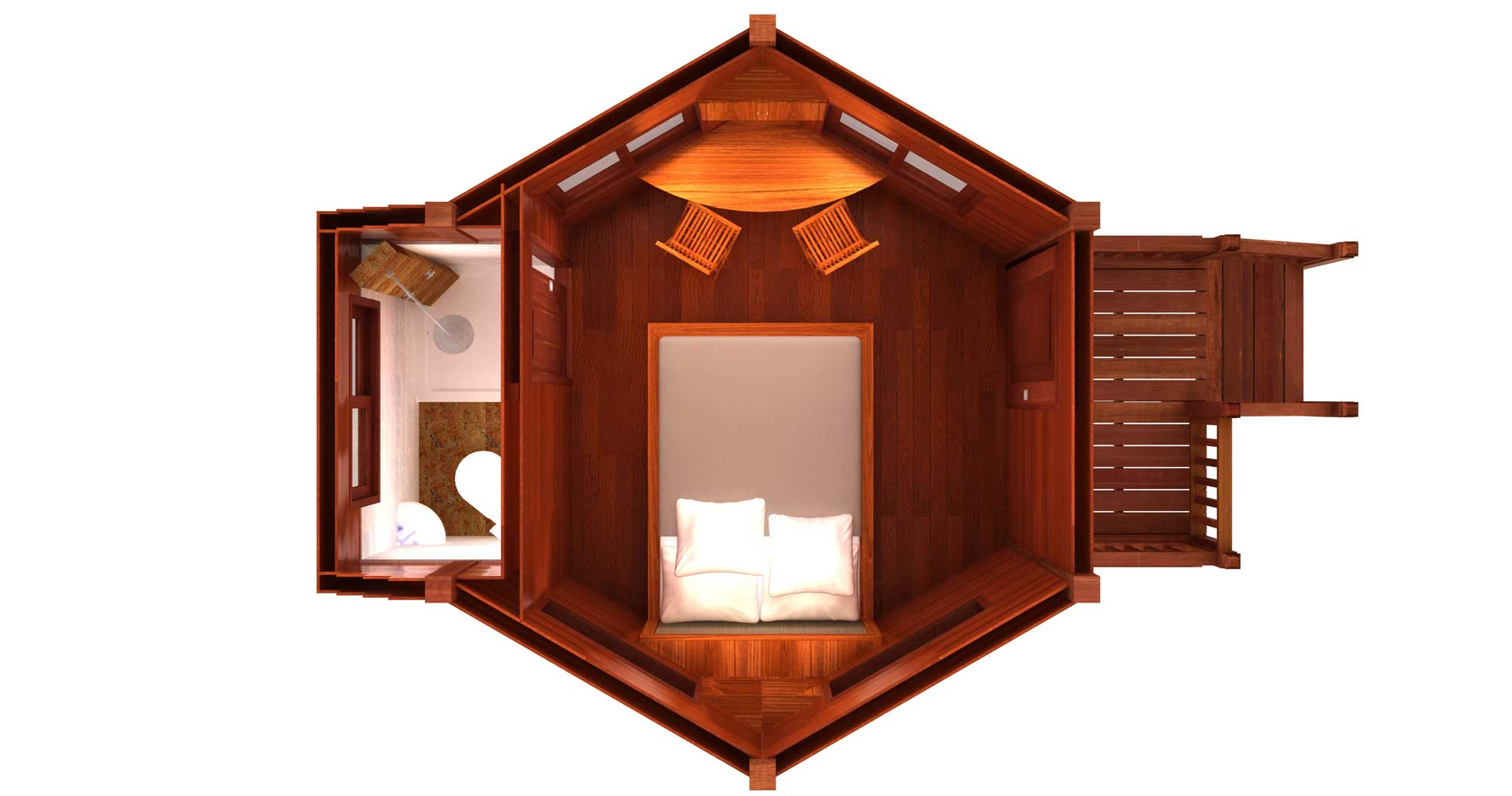 kona karma design prefab home plans teak bali