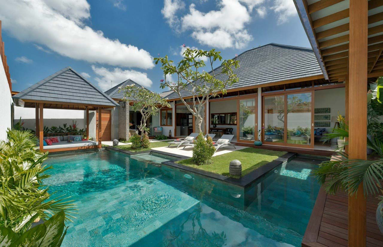 Seminyak Project Luxury Prefab Wooden Villa Design