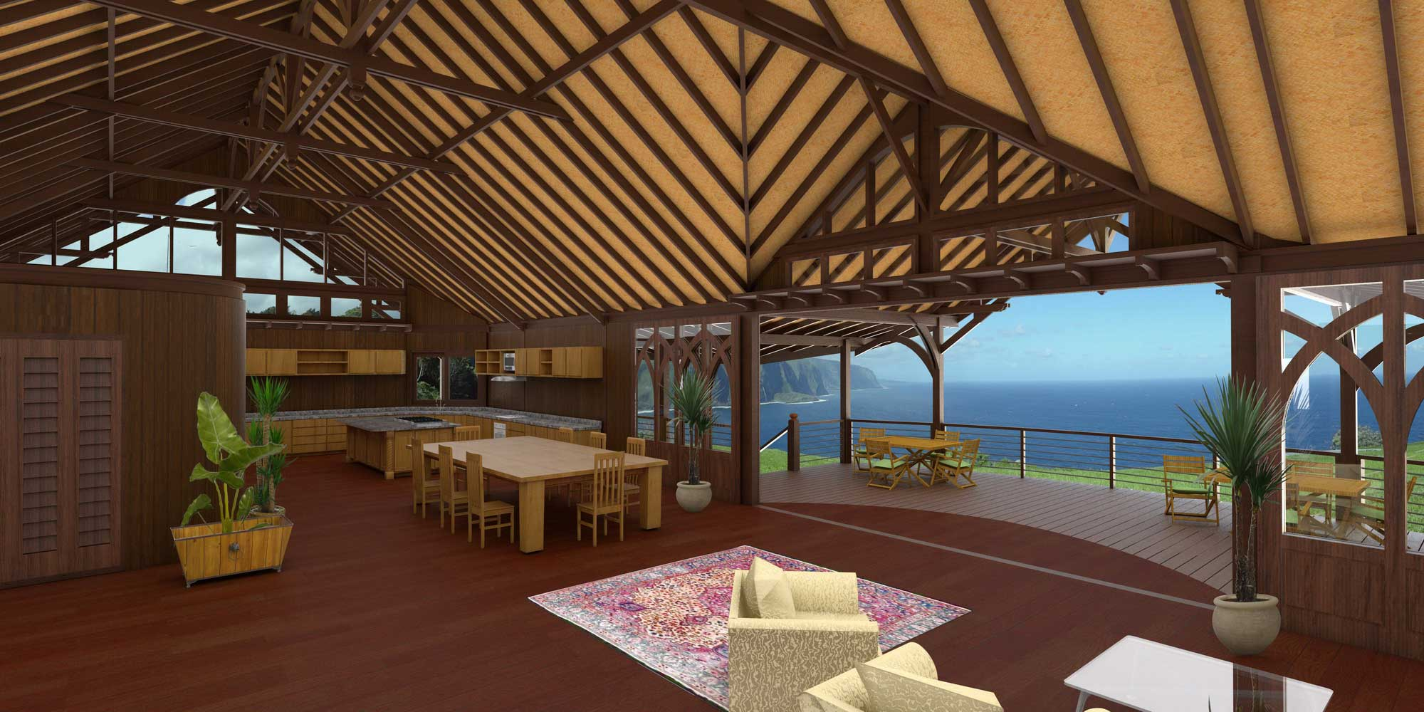 Bali style designs plans teak bali for Tropical home plans