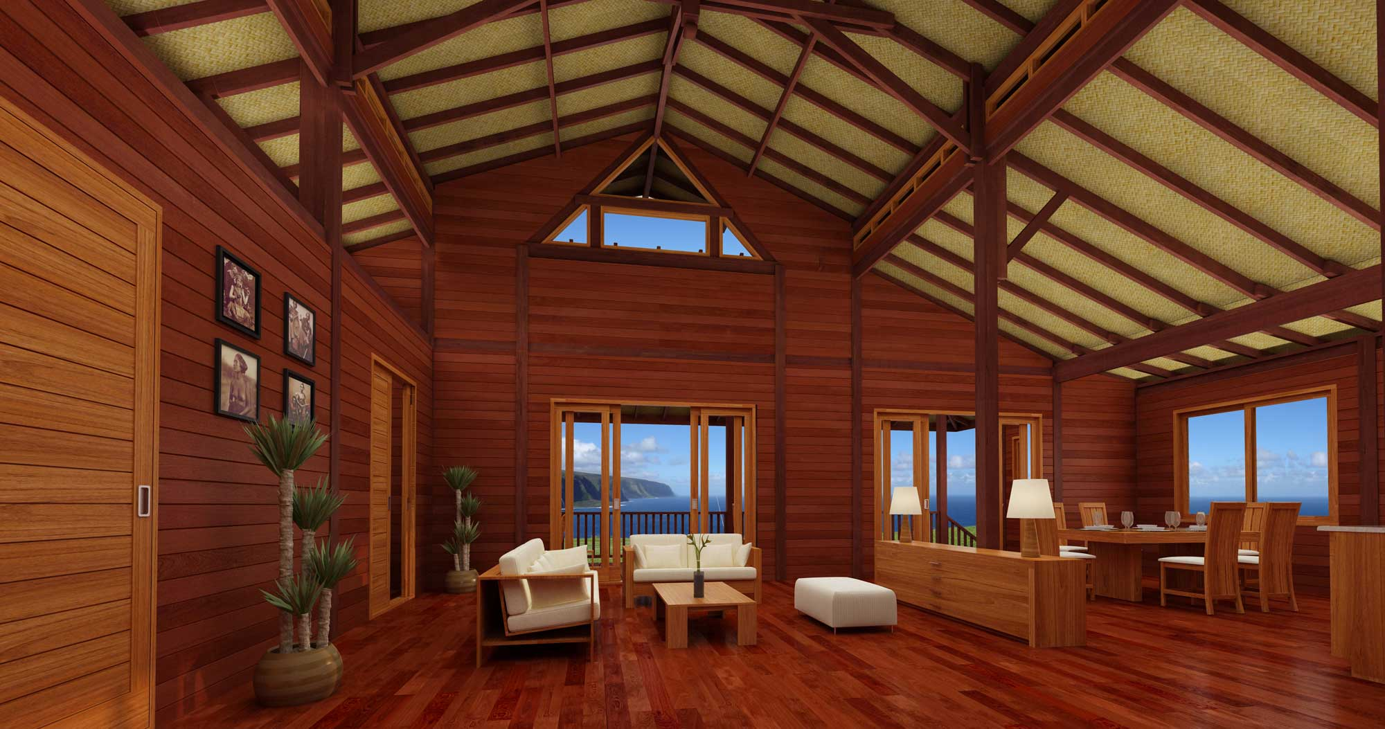 Hamakua Haven Project View Our Kona Prefab Wooden Home