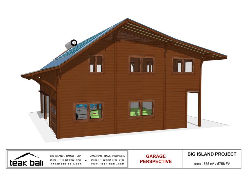Hawaii Hardwood Timber House