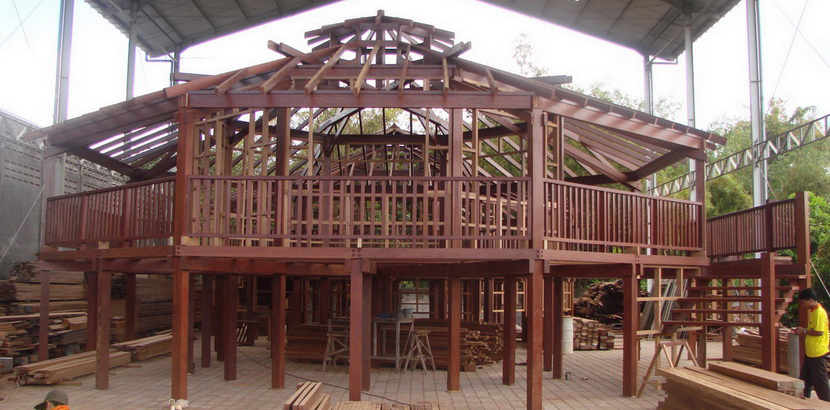 Caribbean Hardwood Home