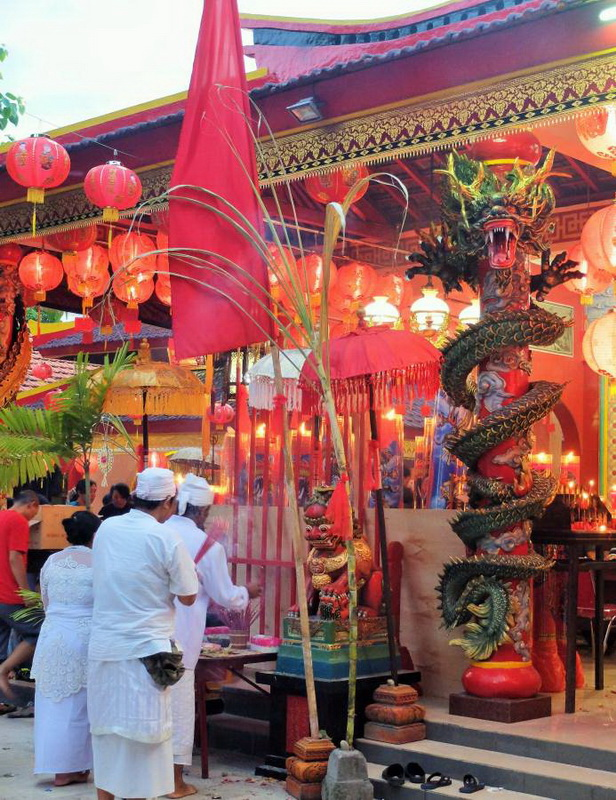 Chinese New Year Imlek Celebrations in Bali