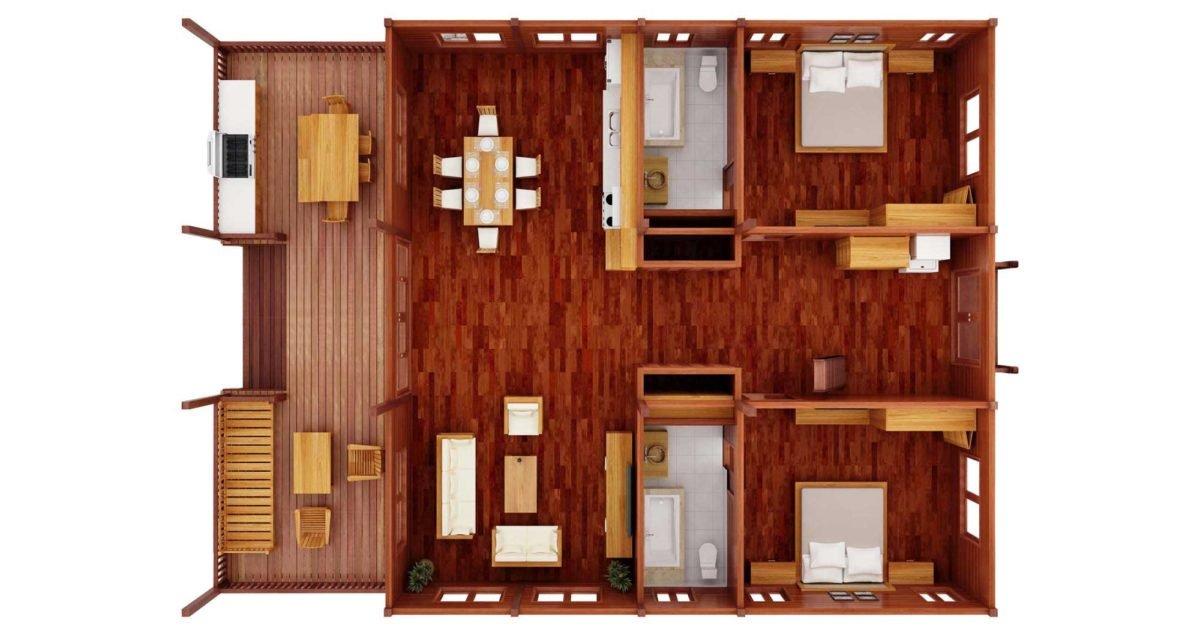 Luxury Prefab Hardwood Homes Prefab Houses Teak Bali